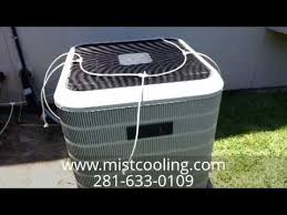 Build Your Own Patio Misting System Ac Precooling Mister System Kit Demo Youtube