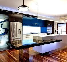 bar de cuisine moderne table cuisine moderne cuisine moderne en blanc et bois avec table de