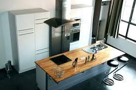 ilot de cuisine avec table amovible table amovible cuisine meuble de cuisine avec table escamotable