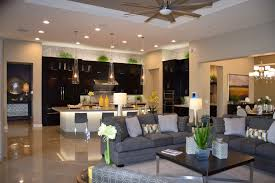 Open Floor Plan Kitchen Family Room by The Fulton Homes O U0027connor Model At Legacy Shows Good Color Choices