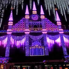 christmas light show 2016 city walks christmas in new york 2016 1 saks light show craft