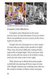 Most Common Type Of Color Blindness Color Blindness