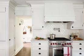 White Subway Tile Kitchen With Kitchens White Kitchen Cabinets - Backsplash tile for white kitchen