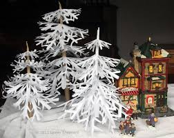 home alone christmas decorations making trees for christmas villages and dioramas