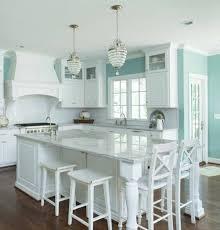cuisine bleu clair couleur peinture cuisine 66 idées fantastiques calacatta gold