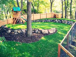 Backyard Play Area Ideas Backyard Diy Playground Slide Alternatives To Grass For Play