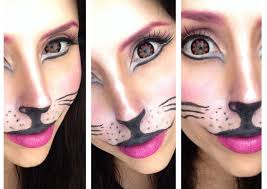 kitty cat makeup for halloween cat make up tutorial carnevale 2014 youtube