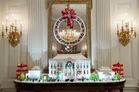 obama last christmas white house holiday decorations