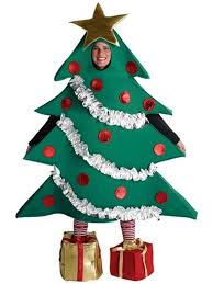 ornament tree with gift boxes costume costumes