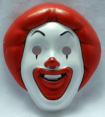 halloween nick nacks mcdonalds ronald mcdonald halloween mask near vintage 1997 pop art