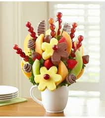 cup of cheer fruit bouquet houston tx florist