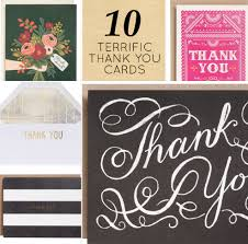 where to buy thank you cards modern etiquette thank you dos and dont s 10 thank you