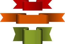 large ribbon ribbon banner clip at clker vector clip online