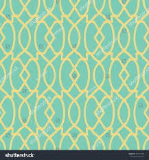 art deco trellis pattern seamless vector stock vector 377271448