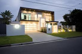 minimalist white fence front house for luxury design inspirations