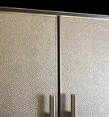 Stainless Steel Backsplash Sheet Of Stainless Steel by Bright Hammered Pattern Stainless Steel Backsplashes From