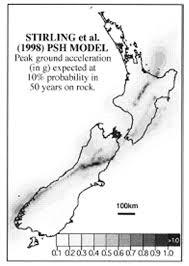 Seismic Risk Map Of The United States by A New Seismic Hazard Model For New Zealand Bulletin Of The