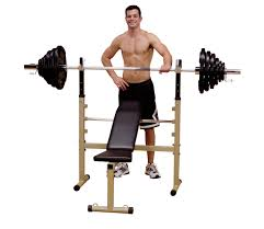 Body Solid Folding Bench Best Fitness Bfob10 Folding Olympic Bench