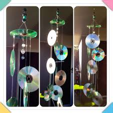 cd sun catcher to keep birds off your patio blissful awakenings