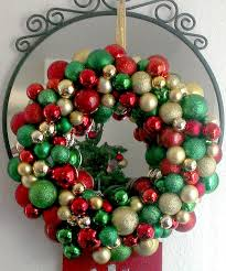 Homemade Christmas Wreaths by Livelovediy 20 Diy Christmas Ornament Wreath Ideas