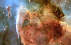 light and shadow in the carina nebula nasa