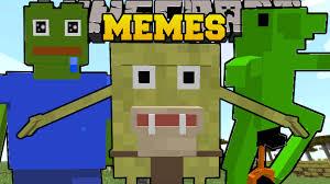 Memes Minecraft - minecraft memes dat boi pepe the frog spongegar mlg viallger
