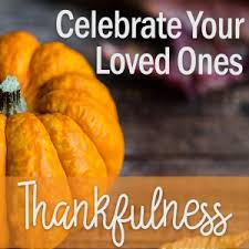 celebrate your loved ones thanksgiving devotional 3 in 15 makes 5