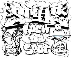 cool graffiti coloring pages 100 images multicultural graffiti
