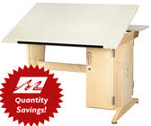 Cad Drafting Table Diversified Woodcrafts Cad Drafting Table With Drawers 155036 Cdtc