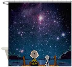 Peanuts Shower Curtain Charlie Brown And Snoopy Shower Curtain