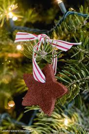 ornaments cinnamon ornaments handmade