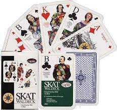 skat waldeck german cards classic cards