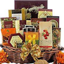 gourmet wishes thanksgiving gift basket
