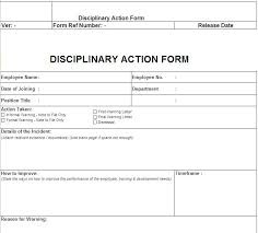 disciplinary template 28 images disciplinary warning letter