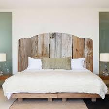 Headboard Designs Wood Bedroom Comely Brown Textured Wood Diy Headboard Decor With