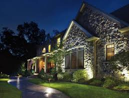 landscape lighting photocell lighting awesome led outdoor lighting design with building with