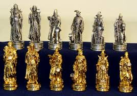 100 decorative chess set medieval knights chess set with