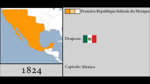 map of mexico 1821 history of mexico 1821 2015