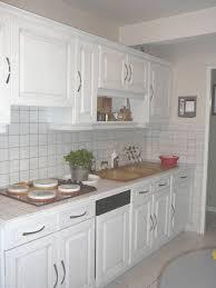 relooker une cuisine en chene repeindre une cuisine en chene avec transformation cuisine retro