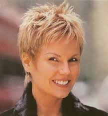 cropped hair styes for 48 year olds 92 best hair images on pinterest coiffures courtes pixie cuts