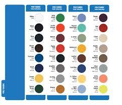 Pantone Color Names Color Charts Penn Emblem Company