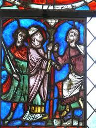 file stained glass window saint nicolas jpg wikimedia commons