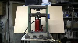 do it yourself 20 ton hydraulic forging press youtube