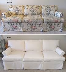New Custom Slipcover For Old Ethan Allen Sofa CarrGo Canvas - Ethan allen hyde sofa