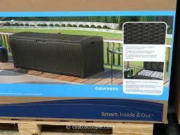 83 Gallon Deck Box by Storage Bins Storage Bins With Lids Cheap Stanley Home Depot