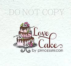 wedding cake logo cake logo bakery logo chef logo cook logo cake shop logo