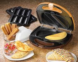 Fiesta Toaster Fiestas Made More Festive By Nostalgia Electrics U0027 New Quesadilla