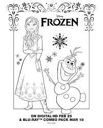 Frozen Coloring Pages And Activity Sheets Mommy S Busy Go Ask Daddy Frozen Free Coloring Pages