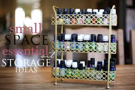 essential oil storage ideas for small spaces drea wood