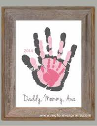 heart handprint canvas for grandma craft gifts canvases and craft